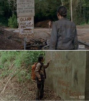 Glenn Is The Unpaid Intern of The Apocalypse
