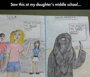 A Political Cartoonist in Training