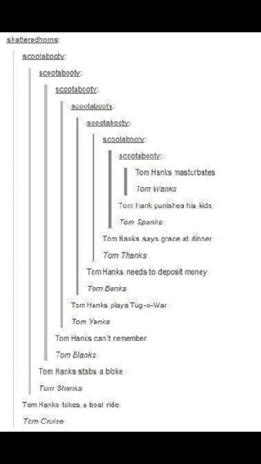 Tom Thanks for These Puns