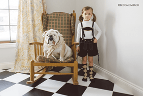 A Visual Story of a Girl and Her English Bulldog