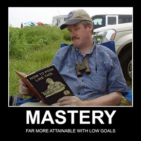 He's a True Master