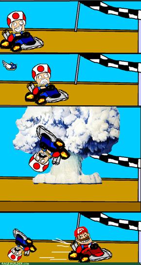 Mario Kart Rage!