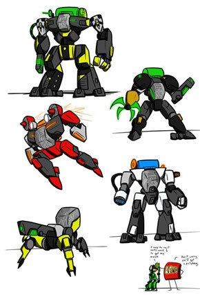 Invasion from Below: Mechs