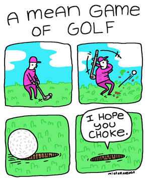 A Mean Game of Golf