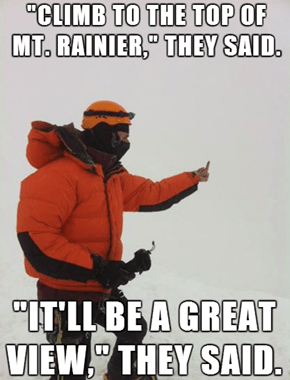 Bad Luck Mountain Climber
