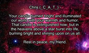 For _C_A_T_, In Memoriam.