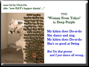 """Swing Kitteh"" (TTO ""Woman From Tokyo"" by Deep Purple)"