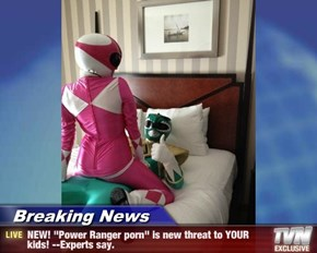 "Breaking News - NEW! ""Power Ranger pr0n"" is new threat to YOUR kids! --Experts say."