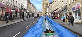 Soon, This 90-Foot Slip n' Slide Will be a Reality