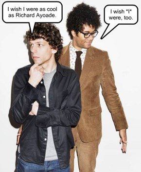 I wish I were as cool as Richard Ayoade.