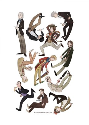 The Doctor's Always Tumbling Around Through Wibbly-Wobbly Timey-Wimey Stuff