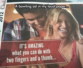 Bowling Ads: Nailed It (Figuratively Speaking)
