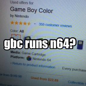 gbc runs n64?