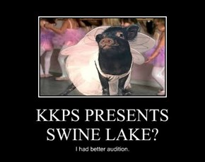 KKPS PRESENTS SWINE LAKE?