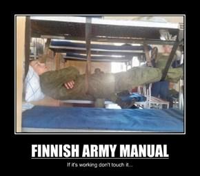FINNISH ARMY MANUAL