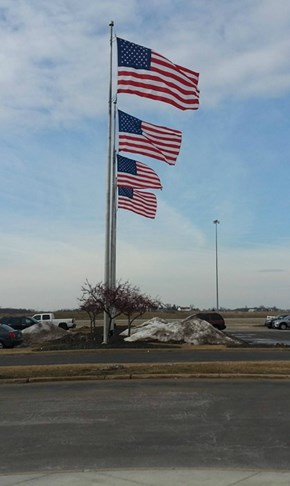 Four Flags in Front of Your Store (When Just One Won't Do)