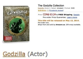 Starring Godzilla, Written by Gamera