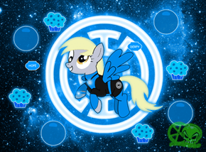 Blue Lantren Derpy