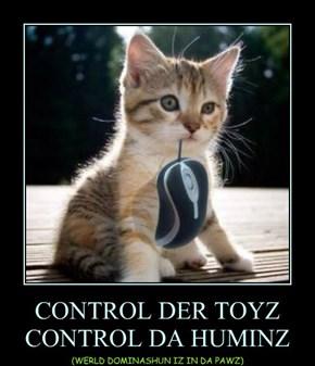 CONTROL DER TOYZ CONTROL DA HUMINZ