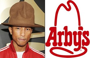 Arby's Bids $44k for Pharrell's Hat on eBay and Wins