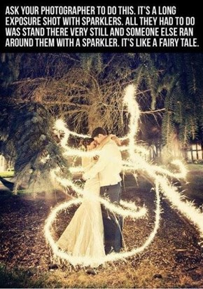 Cool-Fairty Tale-Photos With Long Exposure Shots Sparklers