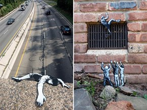 This Street Art Just Wants to Hang On