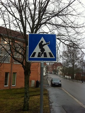 Eastern Norway Officially Has Silly Walk Crosswalks