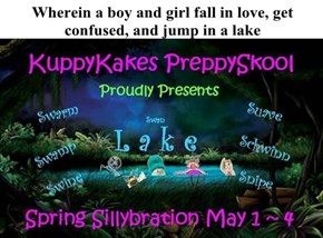Wherein a boy and girl fall in love, get confused, and jump in a lake