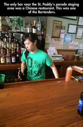 An Honest Bartender