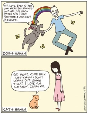 The Truth About Cats And Dogs