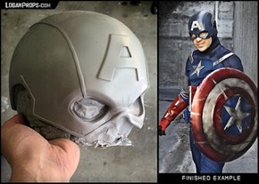 Get Your Captain America Helmet Now, Before The Sequel Comes Out
