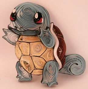 Squirtle Gets a Paper Makeover