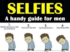 Selfies for Men: A Handy Dandy Guide
