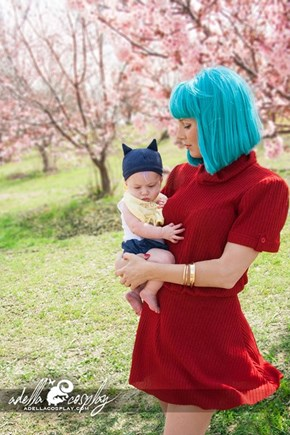 What Do Cosplayers Do When They Have Babies? Baby Trunks and Bulma, Duh