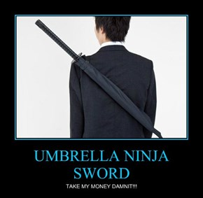 UMBRELLA NINJA SWORD
