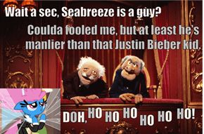 Statler and Waldorf on It Ain't Easy Being Breezies
