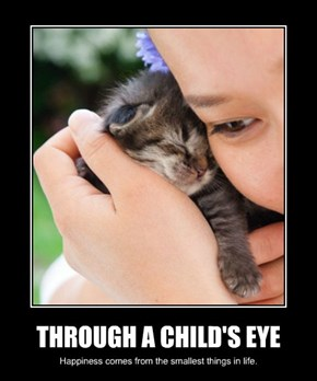 THROUGH A CHILD'S EYE