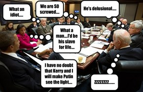 Ever wonder about an NSC meeting with Obama....?