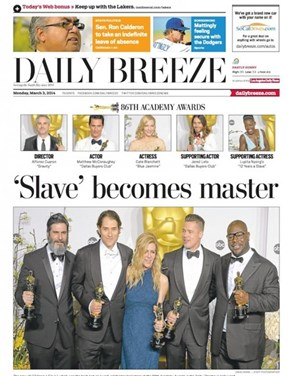 This Local LA Newspaper Could Not Have Found a Tackier Headline for the Oscars