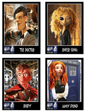 If Doctor Who Were A Pixar Movie
