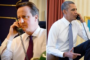David Cameron Called President Obama Earlier Today, And According to Twitter, They Had a Rather Interesting Conversation