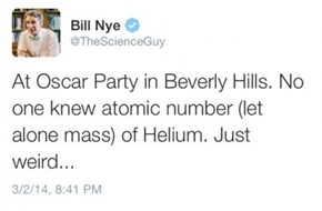 Bill Nye Is Dissapoint