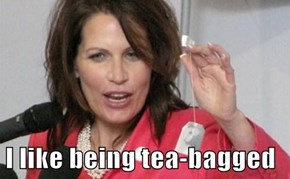 I like being tea-bagged