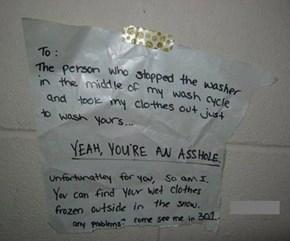 Laundry Revenge