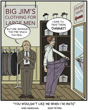 Bruce Banner Shops at The Big and Tall Store