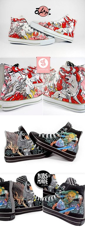 Custom Video Game Sneakers