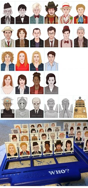 Guess Doctor Who
