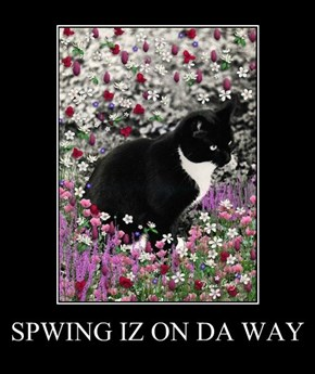 SPWING IZ ON DA WAY