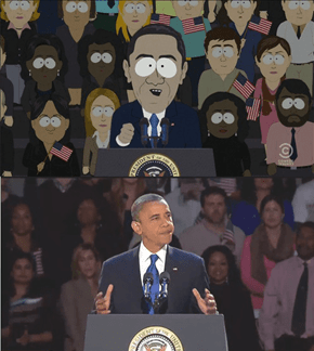 South Park Takes Parody Super Seriously