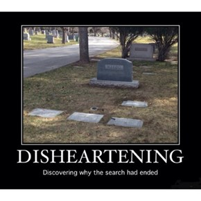 The Headstone Doesn't Have Stripes?